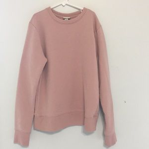 light pink target sweater